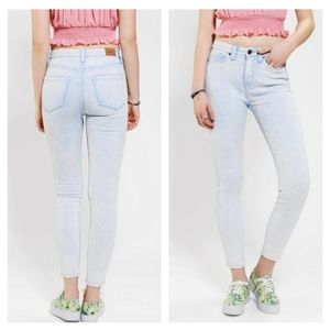BDG Twig High-Rise Jean - Bonnie Blue Acid